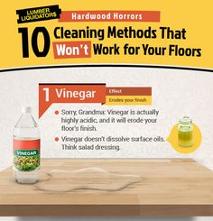 10 Incorrect Ways to Clean Your Floor...Plus 1 RIGHT Way!