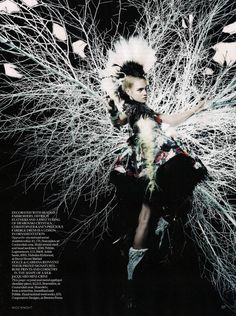 Photography by Nick Knight. Get the inside track on how to develop your photographic vision and get your work seen in the industry HERE >>> https://www.mastered.com/course-listings/photography-mastered-with-nick-knight/overview?utm_source=pinterest&utm_medium=organic&utm_campaign=masteredwithnick