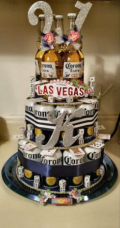 Healthy meals with chicken and vegetables without milk sugar Corona Cake, Corona Beer, 50th Birthday Gifts, Birthday Cake, Beer Can Cakes, 21st Bday Ideas, Vegas Theme, Fondant Cupcake Toppers, Casino Cakes