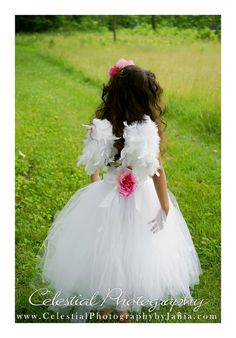 Boy or Girl Toddler Child angel wings with satin straps for portrait , wedding flower girl , ring bearer or special