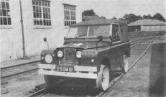Rail runner Land Rover  Longmoor Military Railway  http://www.irsociety.co.uk