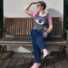Augen auf! Und das in Rosa... Soundtrack, Tweed, Shirts, Style, Fashion, Pink, Eyes, Kleding, Swag