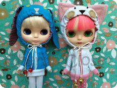 Cute hoodie kitty. $33.00, via Etsy.