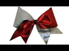 ▶ How To Make A Holographic Cheer Bow - DIY - YouTube
