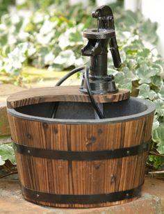 Old Pump Fountain-Single Buckey