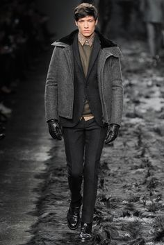 Fendi Fall 2014 Menswear - Collection - Gallery - Style.com