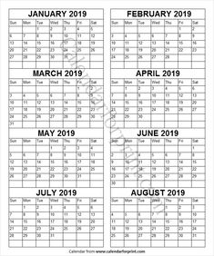 Last Week Of January Through February 2019 Calendar 12 Best January 2019 Calendar images