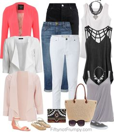 Basic Wardrobe by fiftynotfrumpy on Polyvore featuring RVCA, Wallis, Jane Norman, VILA, Current/Elliott, White Stuff, Sole Society, Monsoon, Vans and ASOS
