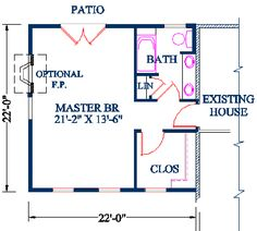 Master Suite Floor Plans - House Design Ideas