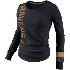 Nike Baltimore Ravens Women's Purple Everyday Legend V-Neck ...
