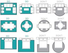 simple rules to choose right dimensions for your rug via Front Door # Furniture arrangement How to choose the Perfect Rug — Martine Claessens Living Room Furniture Layout, Rugs In Living Room, Living Room Designs, Living Room Feng Shui, Living Room Layouts, L Shaped Living Room Layout, How To Decorate Living Room, Living Room Ideas, Apartment Furniture Layout