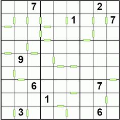 Non Consecutive and Consecutive Sudoku | sudoku variations | Pinterest