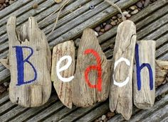 Driftwood Sign Ideas