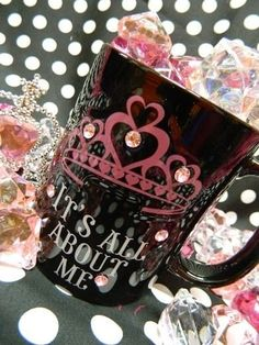 It's All About Me! Mug, $29.96 (Shop here: http://polka.ecrater.com/p/22055671/its-all-about-me-mug)