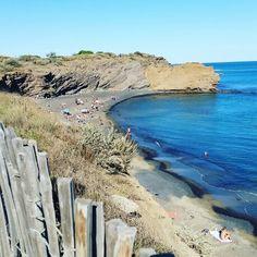 Plage la grande conque au Cap d'Agde