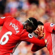 El primer DAB de Paul Pogba en el Manchester United. #Pogboom #Pogback #SomosInvictod