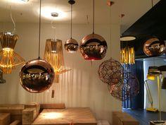More pendant lights... Spoilt for choice