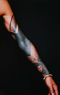 Image result for arm cuff tattoos #tattoosmensarms