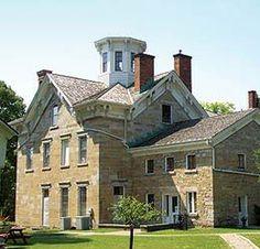 images mathias ham house | The 1856 Mathias Ham House Historic Site, National Mississippi River ...