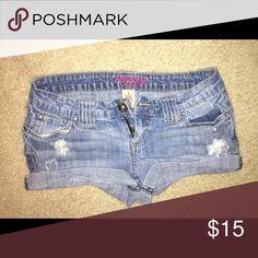 Jean shorts Good condition little big on my Arizona Jean Company Shorts