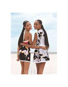 It Takes Two for 'Double Whammy' in Teen Vogue #Sibling #Photography trendhunter.com