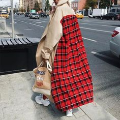 Fashion Week Outfit Blazers For 2019 Diana Fashion, Look Fashion, Winter Fashion, Fashion Design, Fashion Details, Lolita Fashion, Street Style Fashion, Fashion Coat, Plaid Fashion
