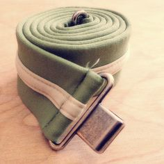 Vintage Pastel Green Waist Belt by CountryMermaids on Etsy