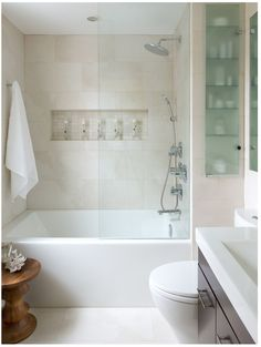 this tub, enclosure and cabinet are my favorite inspiration so far