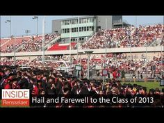 Video - Inside Rensselaer: May 24, 2013 - 2013 Commencement , awards and recognition, a giant Rubik's Cube, Alumni Hall of Fame inductees and more!