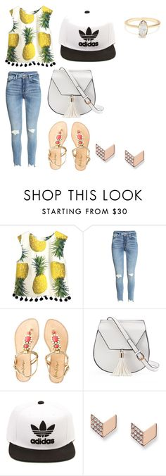 """friends challange"" by cherlina-nelemans2003 on Polyvore featuring mode, Lilly Pulitzer, Yoki, adidas en FOSSIL"