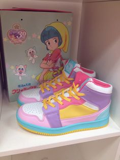 Creamy Mami, the Magic Angel - High‐tech Sneakers: 30th Anniversary Design
