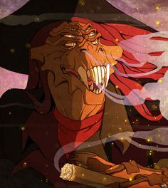 I remembered this guy all of a sudden~ Treasure Planet (c) Disney art (c) me Captain Flint Captain Flint, Disney Dream, Disney Love, Disney And Dreamworks, Disney Pixar, Treasure Planet Jim, Disney Treasures, Character Design, Character Art