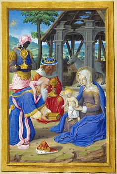 The Morgan Library & Museum Online Exhibitions - Hours of Henry VIII - Adoration of the Magi