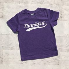 Thankful Boys tshirt, Thanksgiving boys shirt, Thanksgiving Baby Shirt, Toddler Thanksgiving Shirt, Boy fall shirt , girls fall, Thankful