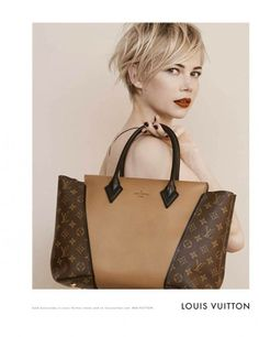 Louis Vuitton + Michelle Williams = <3