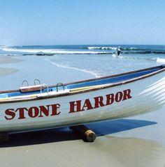 Stone Harbor Lifeguard Boat