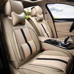 Auto Leather Cushions Set For Citroen QUATRE Triomphe Elysee Picasso C2 4 5