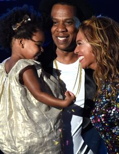 """There was something for everyone in the moment at the VMAs during which Jay Z and Blue Ivy Carter presented Beyoncé with her award. It came complete with a """"Yay, Mommy!"""" exclamation from Blue."""