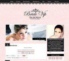 Cantinho do blog Layouts e Templates para Blogger: Encomenda Entregue Bride Vip - Dia da Noiva