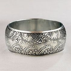 sterling silver bangle - love it!!!