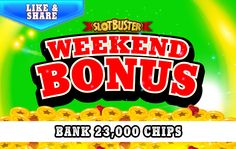 ☆☆☆ Weekend Bonus ☆☆☆Bag A Bunch Of Chips >  < Win Win Win #slotgames