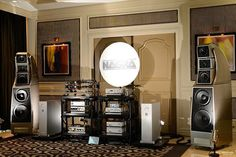 The simply sublime Wilson Audio Alexx Speakers with Nagra Audio HD Monoblock Power Amplifiers, and electronics, Kronos Pro Turntable, Transparent OPUS Cables at the #CES2017... Pictures courtesy of My-Hiend.com #TheSpeakerShack #WilsonAudio #NagraAudio #Kronos #Transparent #Speakers #Amplifiers #MYHIEND #CES2017 #Audio #HighEnd #Music
