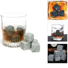 Whiskey Stones - 9 Pack - Save 70% Just $12