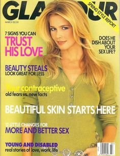 March 1996 cover with Claudia Schiffer