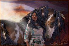 Native American Indian Girl | Native American Souls, animals, girl, horses, indian, indian american ...