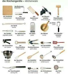 die Küchengeräte