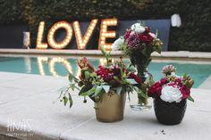Ambientacion, Boda, casamiento, decoración,  rosas rojas, love, cartel con luz Wedding, decor,  red roses, Club House, Buenos Aires