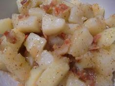 Gluten-Free Hot German Potato Salad - An excellent recipe if you enjoy bacon and vinegar!