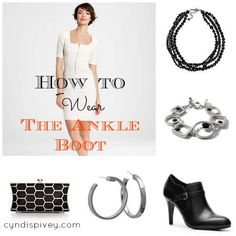 How To Wear The Ankle Boot