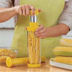 Deluxe Corn Stripper, Corn on the Cob Stripper, Corn Kernel Remover | Solutions